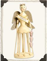 NICOL SAYRE 'LOVE ANGEL' SANTOS CAGE DOLL