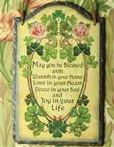 Irish Blessing On Slate