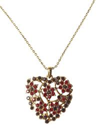 TWIG & BERRY HEART PENDANT