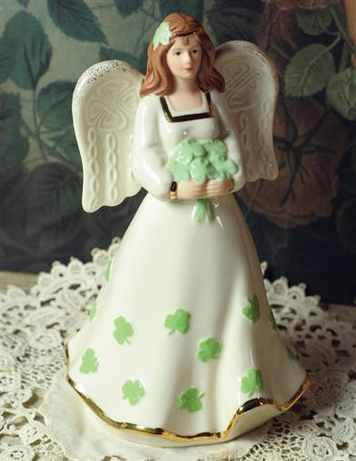 ST. BRIGIT OF KILDARE PORCELAIN ANGEL