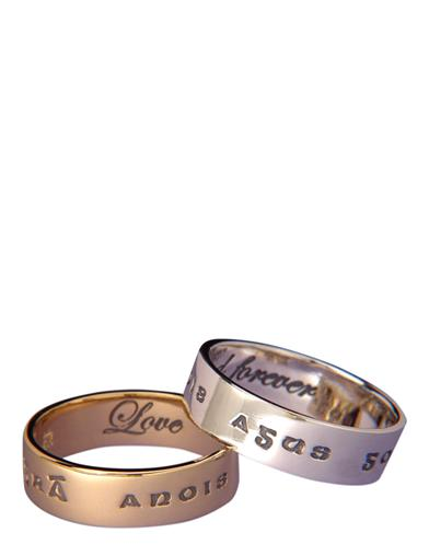 LOVE FOREVER POESY RING