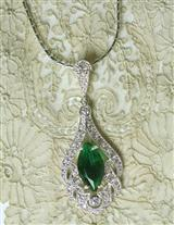 MAUREEN O'HARA LAVALIER NECKLACE