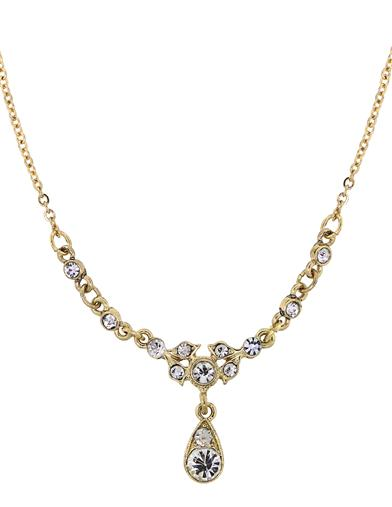 Downton Abbey Petite Belle Drop Necklace