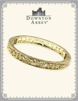 DOWNTON ABBEY GOLD FILIGREE STRETCH BANGLE
