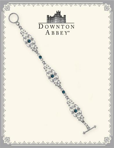 DOWNTON ABBEY BLUE SAPPHIRE FILIGREE BRACELET