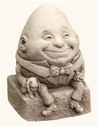 HUMPTY DUMPTY DESKTOP STATUARY