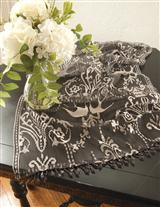 DOWNTON ABBEY DUCHESS COLLECTION TABLE RUNNER