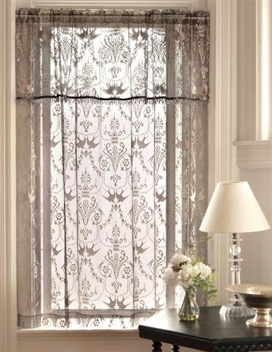 Downton Abbey Duchess Curtain Collection