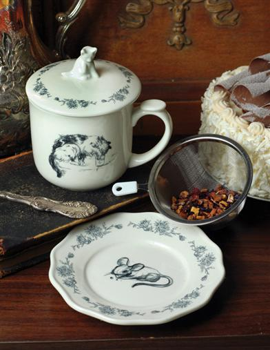 CAT & MOUSE BULK TEA SERVICE FOR ONE