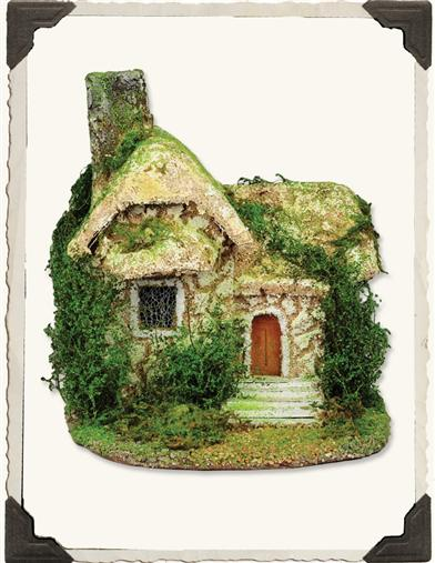 MINI COTTAGE WITH CHIMNEY