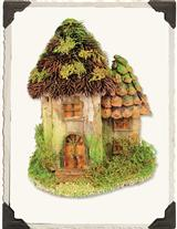 BARK ROOF MINI COTTAGE