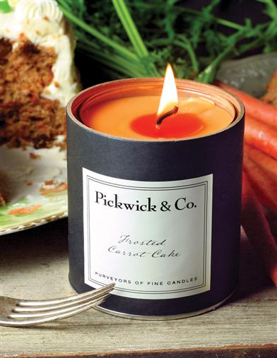 PICKWICK ARTISAN FROSTED CARROT CAKE CANDLE