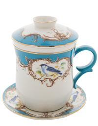 Chickadee Tea Service For One