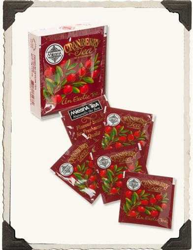CRANBERRY TEA (SET OF 6)