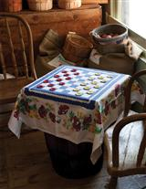 Tablecloth Checkers