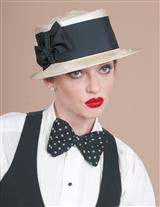 LOUISE GREEN HARPER TOP HAT