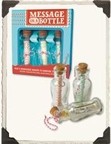 MESSAGE IN A BOTTLE (SET OF 3)