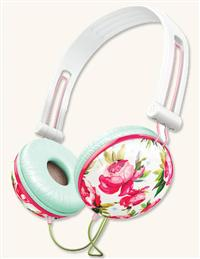 Hawthorne Rose Headphones White