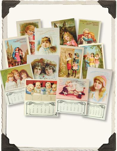 2015 ADVERTISING MINI CALENDARS (SET OF 12)