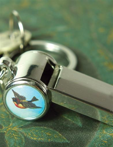 BLUEBIRD OF HAPPINESS SECURITY WHISTLE