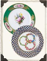 TIN PICNIC PLATES (PAIR)