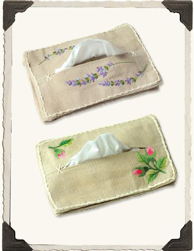 FROM FRANCE TISSUE POUCH