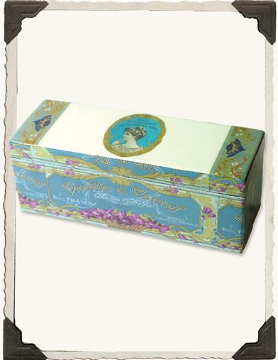 VIOLETTE PARFUMERIE LABEL BOX