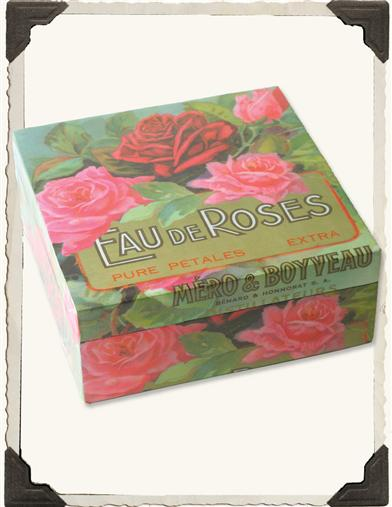 EAU DE ROSES PARFUMERIE LABEL BOX