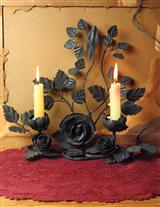 THORNY ROSE GOTHICA CANDLE STAND