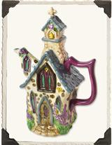 ENCHANTED CHAPEL STONEWARE TEAPOT
