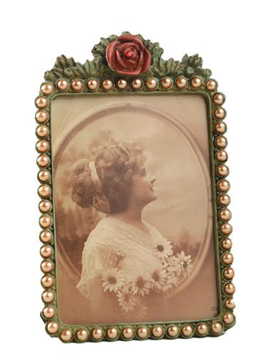 ROSE AMONGST PEARLS FRAME