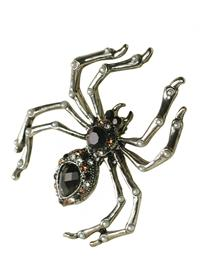 MADAME LACEMAKER SPIDER BROOCH