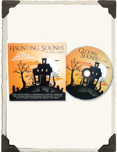 HAUNTING SOUNDS CD