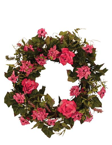 Bed Of Roses Wreath