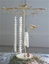 WOODLAND WREN JEWELRY TREE (CREAM)