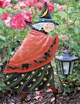 GYPSY WITCH SOLAR LANTERN STAKE
