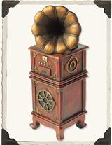 GRAMOPHONE MUSIC BOX (SWAN LAKE)
