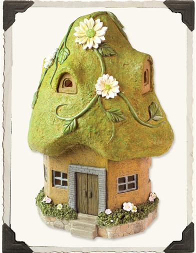 MOSS ROOF SOLAR HOUSE