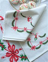 CHRISTMAS DANCER NAPKINS (SET OF 4)