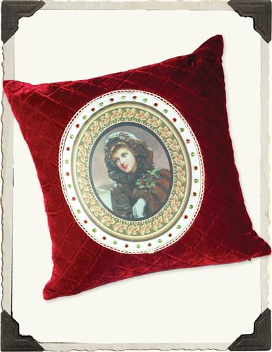 DECEMBER REMEMBERED  PILLOW (FEATHER DOWN)