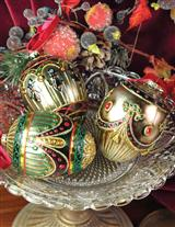 ST. PETERSBURG ORNAMENTS (SET OF 3)