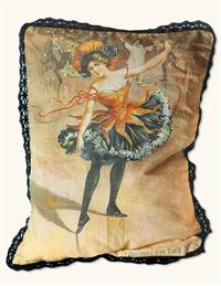 BELLE OF THE BALL SOFA PILLOW (FEATHER DOWN)