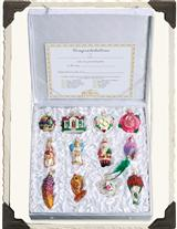 BRIDE'S TREE COLLECTION ORNAMENT BOX SET
