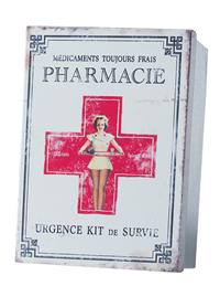 Pharmacie First Aid Tin