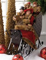 CAROLERS' SLEIGH RIDE