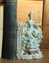 MINUET PORCELAIN BOOKENDS