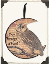 HOOT OWL SIGN