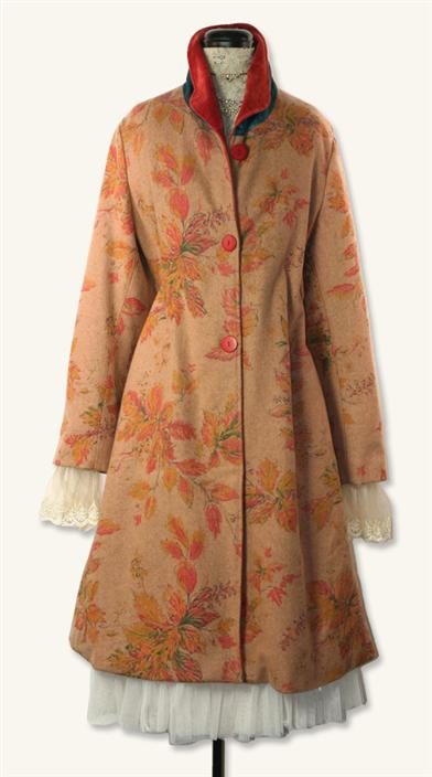 APRIL CORNELL WOODLAND COATDRESS