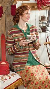 FAIR ISLE LONG CARDIGAN