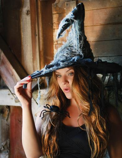 SCAREDY  WITCH HAT